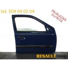 DRZWI PRAWE PRZEDNIE CLIO II 98-05 5D OV460