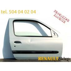 DRZWI PRAWE PRZEDNIE PRZÓD CLIO II 98-05r. MV632