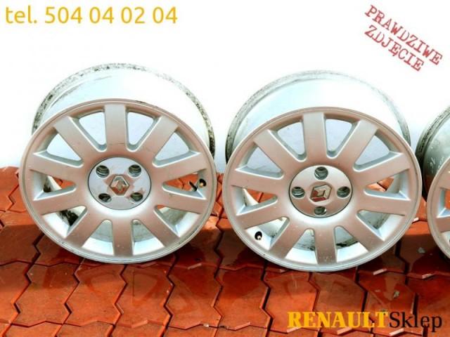 Alufelgi Felgi Aluminiowe Clio Ii Iii Megane I 16
