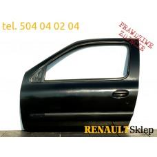 DRZWI LEWE PRZEDNIE PRZÓD RENAULT CLIO II 3D NV676