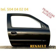 DRZWI PRAWE PRZEDNIE RENAULT CLIO II 3D NV676