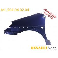 BŁOTNIK LEWY PRZEDNI PRZÓD SCENIC RX4 99-03 TEF43