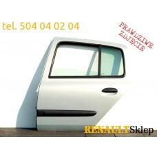 DRZWI LEWE TYLNE LEWY TYŁ CLIO II 98-05 r. MV632