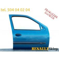 DRZWI PRAWE PRZEDNIE CLIO II 98-05 5D MV408