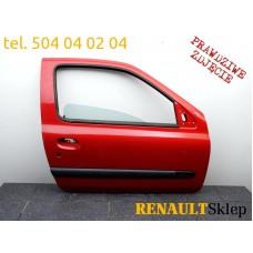 DRZWI PRAWE PRZEDNIE PRZÓD RENAULT CLIO II 3D