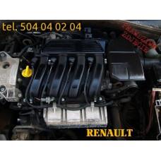 SILNIK 2.0 16V F4R 714 715 LAGUNA II ESPACE IV